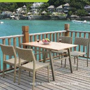 Rattan Outdoor Garden Wicker Dining Set pictures & photos