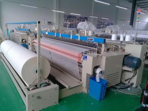 Complete Production Line Gauze Weaving Machine Air Jet Loom pictures & photos