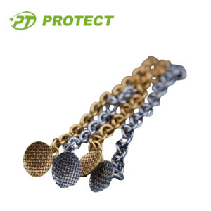 Dental Orthodontic Button Chain Golden Color pictures & photos