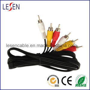 3RCA Cable for Hdtvs and DVD Player pictures & photos