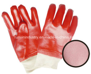 Smooth Finished PVC Coating Gloves 1401 pictures & photos