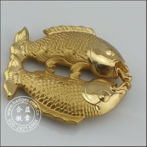 3D Pisces Gold Craft, Fish House Decoration (GZHY-HD-079) pictures & photos