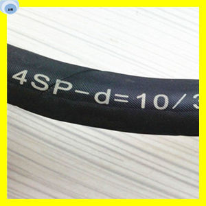 High Pressure Rubber Hose Flexible Hydraulic Hose 4sp Standard pictures & photos