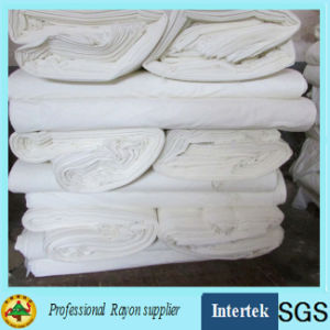 White Chemical Grey Rayon Fabric for Printing Garment pictures & photos