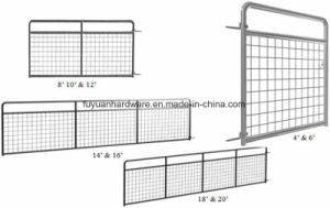 4 Bar Galvanized Steel Pipe Farm Gate pictures & photos