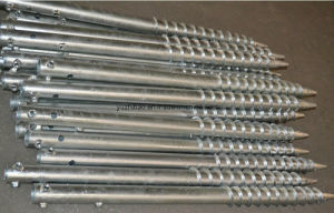 HDG Carbon Steel Ground Screw pictures & photos