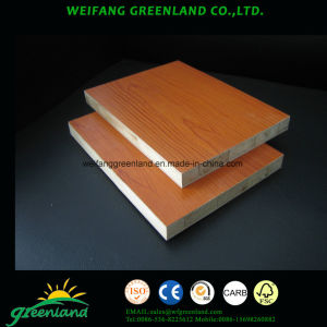 Embossed Finish Melamined Block Board pictures & photos