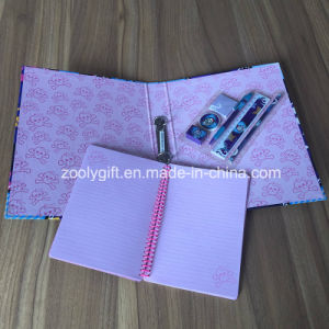 Custom Ring Binder Spiral Notebook Stationery Gift Sets pictures & photos