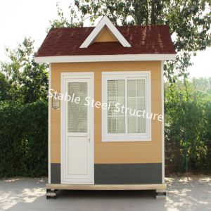 Easily Moved Prefabricated Light Steel Sentry Box House pictures & photos