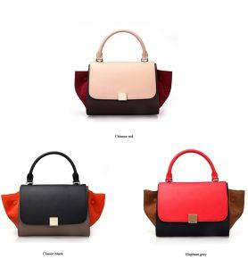 New Fashion Trapeze Ladies Handbag pictures & photos