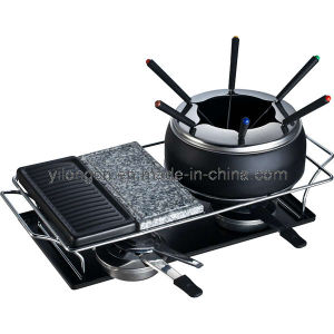 New Styled Nonstick Chocolate Fondue Grill 3-in-1 (BC-J4S)
