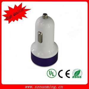 2015 Wholesale Universal Dual USB Car Charger Battery Car Charge pictures & photos