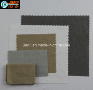 Embossing Print Microfiber Glasses Cleaning Cloth