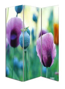 Pretty Flower Canvas Folding Divider