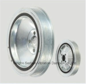 Torsional Vibration Damper / Crankshaft Pulley for Opel 55586935 pictures & photos