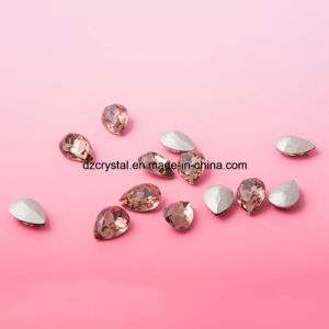 Pujiang Decorative Silver Pleated Crystal Beads for Jewelry Making pictures & photos