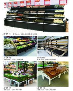 Supermarket Display Stand Shelf for Vegetable and Fruits pictures & photos