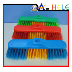 Plastic Broom, Colorful Broom (HLB1125B) pictures & photos