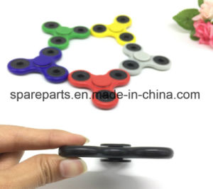 Fidget Spinner Hand Spinner Plating Plastic Spinner Intellectual Toy pictures & photos