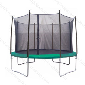 4 W-Leg Bungee Round Trampoline for Adult, Fitness Trampoline pictures & photos