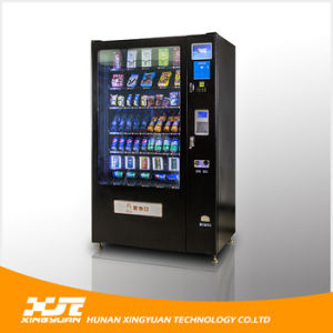 Snacks&Drinks Automatic Vending Machine with CE and ISO9001 Certificate pictures & photos