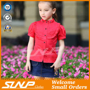 Cute Kids Girls Summer Clothes Cotton Shirts