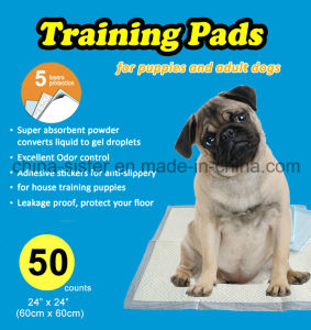 Medium Size Super Absorbent Puppy Training Pad for Adult Dogs and Puppies of All Age pictures & photos