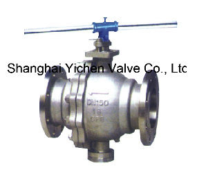 The Handle Operation Fixed Ball Flanged Ball Valve pictures & photos