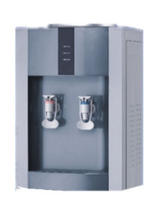 Hot Sale Hot and Cold Table Water Dispenser with Compressor (XJM-1292T) pictures & photos