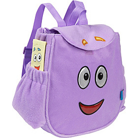 Purple Soft Plush Cartoon Style Kids School Backpack Bag (MS4014) pictures & photos
