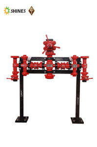 Stand Pipe Manifold for Drilling Platform