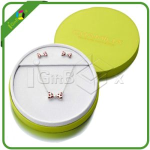 Round Gift Box / Necklace Box with Lid for Jewellry Box pictures & photos