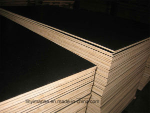 Film Faced Plywood with Poplar Core Melamine Glue First Grade pictures & photos