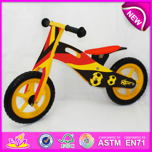 2014 New Wooden Bicycle Toy for Kids, Wooden Balance Bike Toy for Children, Wooden Bike, Wooden Bicycle, Bike Set Factory W16c082 pictures & photos