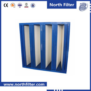 V Bank Air Filter Box and Air Filter Production Line pictures & photos