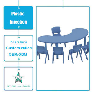 Customized Plastic Table and Chair Set Plastic Injection Mould Parts pictures & photos
