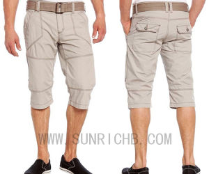 Men′s Cotton Washing Shorts (S04009) pictures & photos