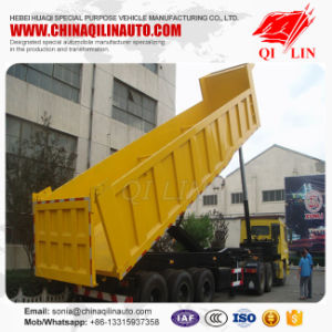 2-3 Axles Coal Transportion Cargo Tipper Truck Trailer pictures & photos