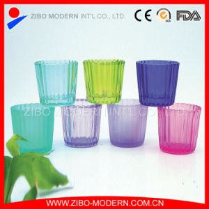 Wholesale Clear Glass Candle Container pictures & photos