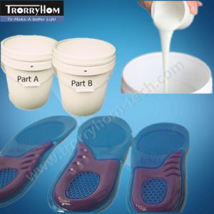 Medical Grade Platinum Cure Silicone for Insoles Making pictures & photos