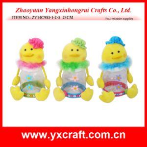 Easter Decoration (ZY14C953-1-2-3 24CM) Easter Jar Gift Ornament Chery Easter pictures & photos