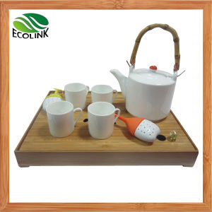 Bamboo Ceramic Tea Set pictures & photos