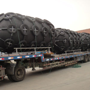 Largest 4500 Diameter Yokohama Pneumatic Rubber Fender, Marine Floating Inflatable Type for Barges Sts Transfers and Pier, Port Docks pictures & photos