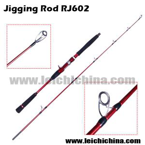 New Type Rj602 2.6 Diameter′s Tip 2 Section Carbon Jigging Fishing Rod pictures & photos