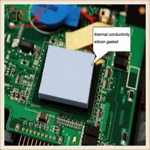 Cooling Thermal Conductive Heatsink Silicone Gap Pad for IC / GPU pictures & photos