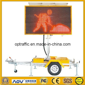 LED Full Matrix Variable Message Sign with Display Size 2600mm*1600mm (NT-VMS-400-21) pictures & photos