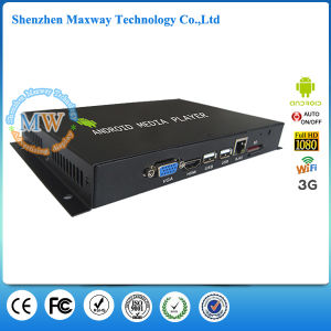 Portable Android OS Network Full HD 1080P Media Player (MW-NWMPB10) pictures & photos