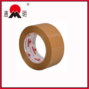 Brown Adhesive Customized Logo and Color BOPP Packing Tape pictures & photos