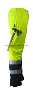 High Visibility Contrast Trousers (EUR034)