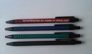 High Quality Plastic Bic Stick Pen with Cap pictures & photos